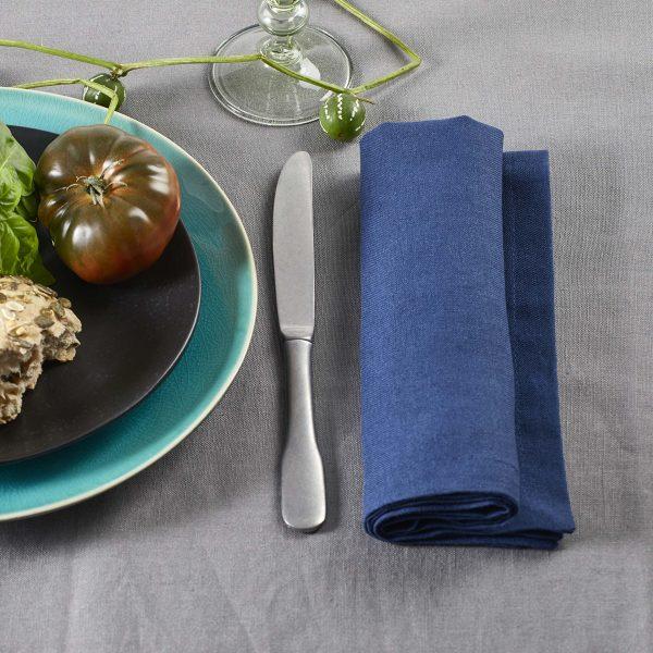 Ambiance Serviette Bleue